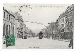 CLERMONT-FERRAND  (cpa 63)  Rue Ballainvilliers -   - L 1 - Clermont Ferrand