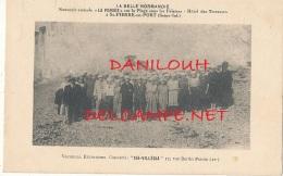 76 // SAINT PIERRE EN PORT    Souvenir Sur La Place Sous Les Falaises, Hotel Des Terrasses, - France