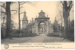 Fontaine-l'Evêque NA48: Le Château. Vue De La Porte D'entrée 1925 - Fontaine-l'Evêque