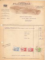 Factuur Facture - Machines Agricoles Flandria - Vanmaercke - Desmet - Tiegem 1944 - België