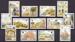 Gibraltar MNH Landscapes, Buildings Sets, All 3 Issues - Other