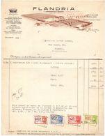 Factuur Facture - Machines Agricoles Flandria - Vanmaercke - Desmet - Tiegem 1947 - België