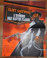 Western Clint Eastwood L'Homme Des Hautes Plaines Affiche Photographies D'exploitation - Cinema Advertisement