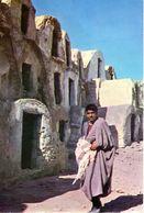 Ghoral Mednine - Strassenszene Ca 1985 - Tunesien