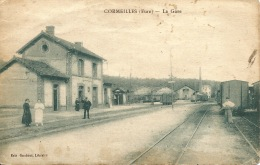 27  CORMEILLES Eure  La Gare - Gares - Sans Trains