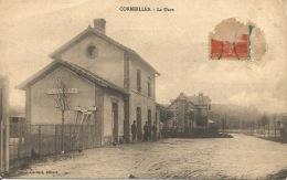 27  CORMEILLES  La Gare - Gares - Sans Trains