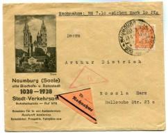 DR-Weimar 361 NACHNAHME EF (Z9874 - Briefe U. Dokumente
