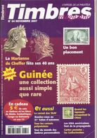 Timbres Magazine N° 84. Novembre 2007 - Français (àpd. 1941)