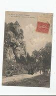 SAINT PIERRE DE MAILLE (VIENNE) LES ROCHERS DU CHATEAU DE LA GUITIERE 1907 (PETITE ANIMATION) - Autres Communes
