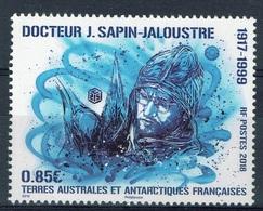 French Antarctic (FSAT), Dr Jean Sapin-Jaloustre, 2018, MNH VF - Unused Stamps
