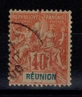 YV 41 Type Groupe TB Cote 22 Eur - Réunion (1852-1975)