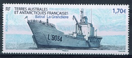 French Antarctic (FSAT), Ship, Batral La Grandière, 2018, MNH VF - Terre Australi E Antartiche Francesi (TAAF)