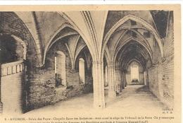 AVIGNON . PALAIS DES PAPES . CHAPELLE BASSE DES AUDIENCES + HIST . AFFR LE 4 VII 1932 AU VERSO . 2 SCANES - Avignon