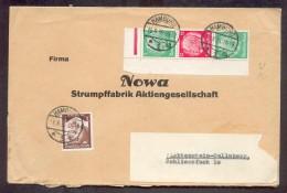 DR-ZusDr. S107 Etc Schöner Beleg 140EUR (A2552 - Se-Tenant