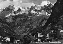 Cartolina Courmayeur Frazione La Saxe 1955 - Italy