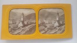 Photos Stéréoscopique Colorise En Transparence Suisse - Stereoscopic