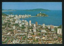 Brasil. SP - Sâo Vicente. *Vista Aérea* Circulada 1966. - Brasil
