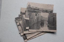 Lot De 22 Photos (tirage Moderne Sur Kraft) : Paris, Inondations, Crue Janvier 1910 - Reproducciones
