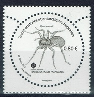 French Antarctic (FSAT), Spider, Myro Jeanneli, 2018, MNH VF - Unused Stamps