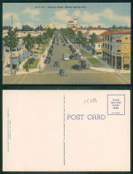 USA [OF #15614] - FLORIDA FL - LINCOLN ROAD MIAMI BEACH - OLD CARS AMERICAN BUS - Palm Beach