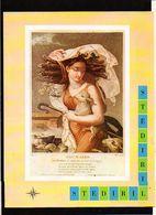 """Publicité Pharmaceutique Laboratoires Wyeth Byla / Calendrier Républicain Ou Révolutionaire """" Brumaire """" - Calendars"""