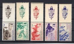 Frankreich WEHRMACHT VI/XLF Mit Zierfeld Links**POSTFRISCH 70EUR (R9534 - Bezetting 1938-45