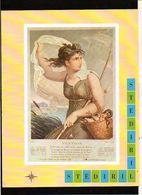 """Publicité Pharmaceutique Laboratoires Wyeth Byla / Calendrier Républicain Ou Révolutionaire """" Ventôse """" - Calendars"""