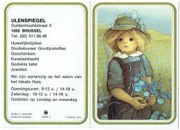 Calendrier. Bruxelles. Enfant. Ulenspiegel. 1983. - Calendriers