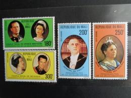 MALI 1977  P.A. Y&T N° 293 à 297 ** - PERSONNALITES DE LA DECOLONISATION - Mali (1959-...)