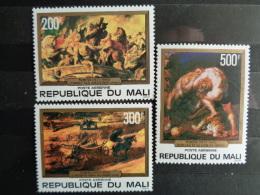 MALI 1978  P.A. Y&T N° 315 à 317 **  - 400e ANNIV. NAISSANCE P. P. RUBENS - Mali (1959-...)