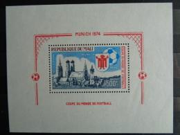 MALI 1973 P.A. B.F  Y&T N° 8 ** - COUPE DU MONDE DE FOOTBALL - Mali (1959-...)
