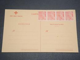 FRANCE - Carte Croix Rouge Non Voyagé , Prête à L 'emploi , Période 1940 - L 12117 - Marcophilie (Lettres)