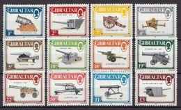 Gibraltar MNH Short Set - Militaria