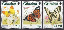 Gibraltar MNH Stamps - Butterflies