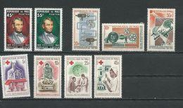 MALI  Scott 72-73, 74-76, 77-80 Yvert 69-70, 76-78, 79-82 (9) ** Cote 7,40$ 1965 - Mali (1959-...)