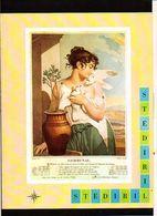 """Publicité Pharmaceutique Laboratoires Wyeth Byla / Calendrier Républicain Ou Révolutionaire """" Germinal """" - Calendars"""