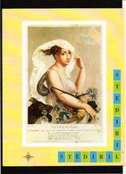 """Publicité Pharmaceutique Laboratoires Wyeth Byla / Calendrier Républicain Ou Révolutionaire """" Vendémiaire"""" - Calendars"""