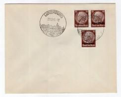 Luxemburg Phil.Umschlag 6+Lo6+DR518 LÄNDER-MISCHFRANKATUR (R8176 - Occupazione 1938 – 45