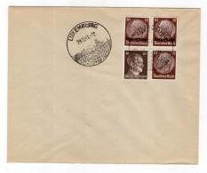 Luxemburg Phil.Umschlag 6+Lo6+DR518+DR787 LÄNDER-MISCHFRANKATUR (R8153 - Occupazione 1938 – 45