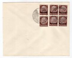 Luxemburg Phil.Umschlag 6+Lo6+DR519 LÄNDER-MISCHFRANKATUR (R8125 - Occupazione 1938 – 45