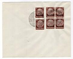 Luxemburg Phil.Umschlag 6+Lo6+DR519 LÄNDER-MISCHFRANKATUR (R8127 - Occupazione 1938 – 45
