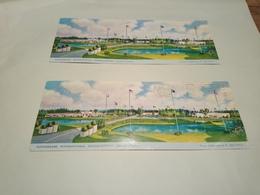 Lot 2 Cartes Tupperware International Headquarters Rlando Floride 1968 Conférence Concessionnaires - Orlando