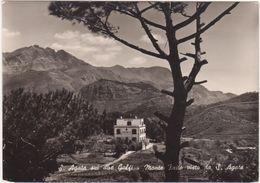A079 S AGATA SUI DUE GOLFI NAPOLI MONTE FAITO VISTO DA S AGATA 1960 CIRCA - Andere Steden