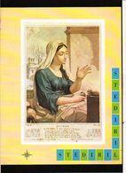 """Publicité Pharmaceutique Laboratoires Wyeth Byla / Calendrier Républicain Ou Révolutionaire """" Nivose """" - Calendars"""