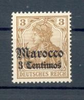 Marokko 21 LUXUS**POSTFRISCH 9EUR (71820 - Deutsche Post In Marokko