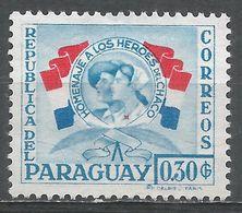 Paraguay 1957. Scott #513 (M) Nurse And Soldier - Paraguay