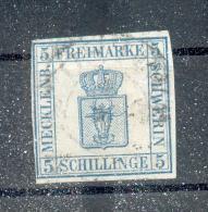 Mecklenburg-Schwerin 3 Sauber Gest. 400EUR (A4714 - Mecklenburg-Schwerin