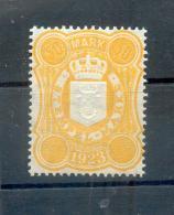 Mecklenburg-Schwerin SELTENE STEUERMARKE REICHSZEIT  50Mk**POSTFRISCH (75588 - Mecklenburg-Schwerin