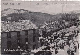 A085 S PELLEGRINO IN ALPE L APPENNINO TOSCO EMILIANO ANIMATA 1950 CIRCA MODENA LUCCA TOSCANA EMILIA - Italia