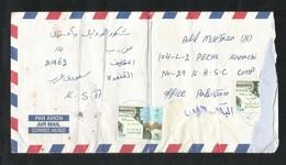 Saudi Arabia Air Mail Postal Used Cover MUZAILIF To Pakistan CONDITION AS PER SCAN - Saudi Arabia